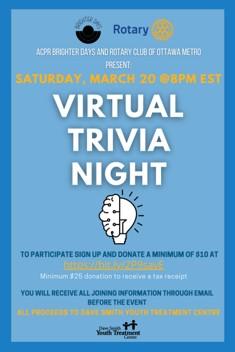 2021-03-20 — Brighter Days – Virtual Trivia Nights