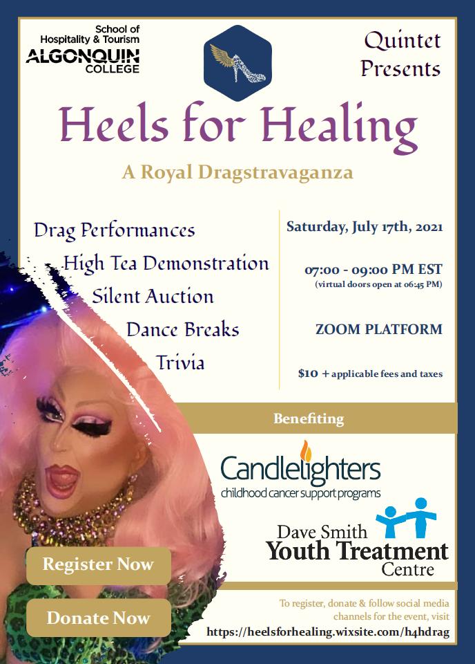 2021-07-17 — Heels For Healing – A Royal Dragstravaganza